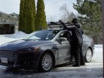 Olympic Gold Medalist Ross Powers and Ford Fusion Energi plug-in hybrid
