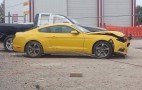 2015 Ford Mustang Already Suffers Its First Crash