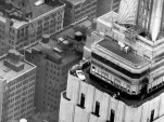 Original Ford Mustang atop the Empire State Building in 1964