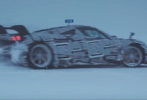Pagani Huayra BC cold-weather testing
