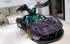 Pagani Huayra Dinastia makes purple and turquoise look amazing