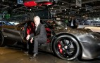 Pagani Ramps Up Huayra Production, Reveals Bare Carbon Model