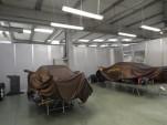 Pagani models under construction.