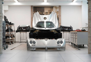 Pagani Rinascimento restoration program