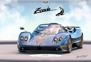 Pagani Zonda commissioned by a customer of TopCar Design