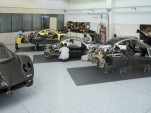 Pagani Zonda production