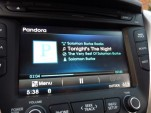 Pandora audio streaming  -  in 2012 Hyundai Veloster