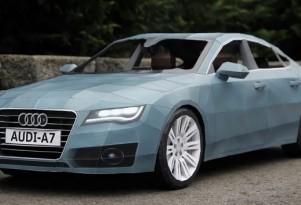 Papercraft Audi A7