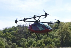 Passenger Drone autonomous manned flying vehicle