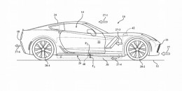 Patent for Active Side Skirts filed by General Motors