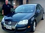 Paul Hayes with his Volkswagen Jetta TDI