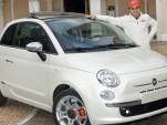 Perks of the job: Ferrari F1 driver gets custom Fiat 500