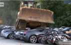 Watch $5.5M worth of smuggled cars get crushed