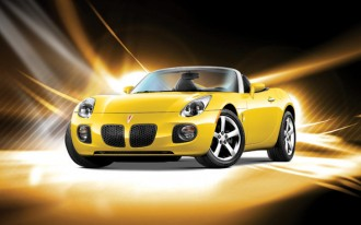 2006-2010 Pontiac Solstice, 2007-2010 Saturn Sky recalled to fix airbag glitch