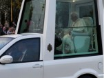 Pope Benedict XVI Gets Charged, Blesses Electric Cars