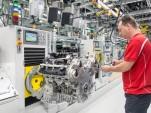 Porsche 8-cylinder engine plant in Stuttgart-Zuffenhausen, Germany