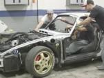 Porsche 964 911 restoration