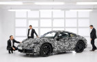 2019 Porsche 911 teased with nod to future hybrid