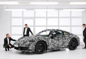2019 Porsche 911 teaser image