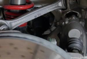 Porsche 911 GT3 rear steer demonstrated
