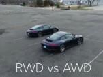 Porsche 911 RWD vs AWD
