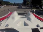 Porsche 917/10 Can-Am car driven on the street