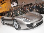 Porsche 918 Spyder Concept live in Geneva. Photos © United Pictures, Int'l.