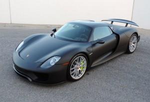 Porsche 918 Spyder for sale at Californian dealership CNC Motors