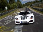 Porsche 918 Spyder on the Nürburgring