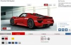 Build Your Dream Porsche 918 Spyder With Official Configurator
