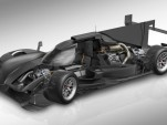 Porsche 919 Hybrid LMP1 race car's electric energy recovery and drive system