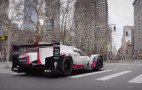 Watch a Porsche 919 race car cruise through New York City