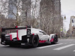 Porsche 919tribute race car visits NYC