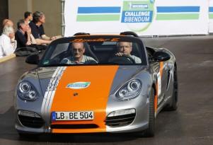 Porsche Boxster E Electric Sports Car A Hit At 2011 Michelin Challenge Bibendum