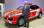 Porsche Cayenne Fire Truck Is 500,000th Vehicle Built At Leipzig Plant