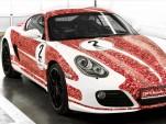 Porsche Cayman S celebrates 2 million Porsche Facebook fans