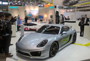 Porsche Cayman e-volution