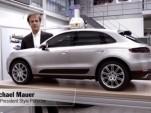 Porsche design chief Michael Mauer