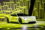 Porsche Mission E electric sport sedan: 200-mile recharge in 15 minutes