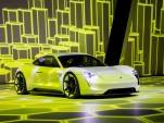 Porsche Mission E electric sedan to offer 300 miles of range, 400 hp, at minimum