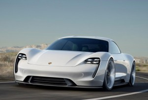 Which battery will Porsche Mission E electric car use?