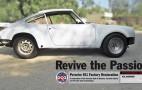 Porsche Restoring Classic 911T For Fan Giveaway