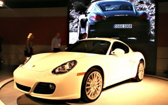 2009 Porsche Boxster and Cayman Make World Debut