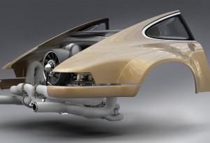 Singer Williams Porsche flat-6 engine