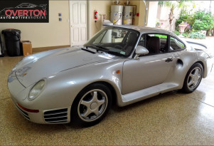 Totally turbo: 1987 Porsche 959 up for sale at $1.3M