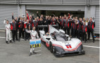 Porsche 919 on goodbye tour, destroys Hamilton's Spa lap record