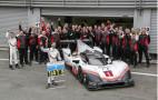 Porsche 919 on goodbye tour, destroys Hamilton's Spa lap record