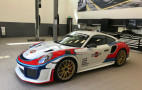 "Martini-liveried Porsche 911 GT2 RS pays homage to the ""Moby Dick"" 935/78"