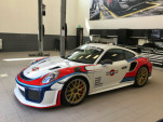 Martini livery Porsche 911 GT2 RS pays homage to the Moby Dick Porsche 935