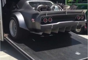 Possible jet engine powered Dodge Charger in Fast 8